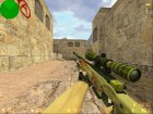 AWP Dragon Lore из CS:GO для Counter-Strike 1.6 вид сзади слева