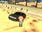 Пак машин из GTA 3 для GTA San Andreas вид сзади слева