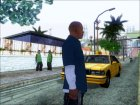 Франклин из GTA V для GTA San Andreas вид сверху