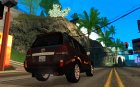 Toyota Land Cruiser 200 для GTA San Andreas вид сверху