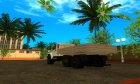 Урал NEXT NEO Бортовой для GTA San Andreas вид сверху