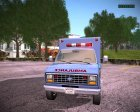 Ford E-350 Ambulance 1982 for GTA San Andreas rear-left view