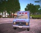 Ford E-350 Ambulance 1982 для GTA San Andreas вид сзади слева