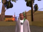 Franklin Clinton GTA V для GTA San Andreas вид слева