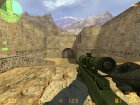 Awp cs go battle scarred for Counter-Strike 1.6 left view
