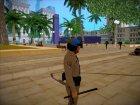 Michael De Santa - San Andreas Highway Patrol Uniform (GTA 5) для GTA San Andreas вид слева