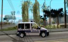 Ford Transit Connect Turkish Police для GTA San Andreas вид изнутри