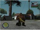 Gold Guns Pack для GTA San Andreas вид сбоку