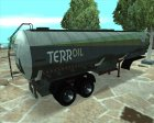 GTA IV Tanker Trailers for GTA San Andreas rear-left view