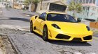 Ferrari F430 Scuderia for GTA 5 rear-left view