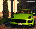 2016 Porsche Cayenne Turbo S for GTA 5 left view