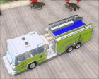 Pierce Quantum Miami Dade Fire Department Tanker 6 для GTA San Andreas вид изнутри