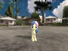 Bon-Bon (My Little Pony) для GTA San Andreas вид сзади слева