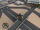 Новые дороги в Лас Вентурасе для GTA San Andreas вид сверху