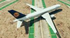 Boeing 757-200 Pack (Lufthansa, British Airways) for GTA 5 rear-left view
