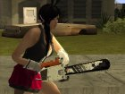 Chainsaw China Wind для GTA San Andreas вид сзади слева