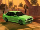 BMW M3 E30 1991 Stock for GTA San Andreas back view