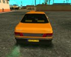 Peugeot 405 Roa Taxi for GTA San Andreas top view