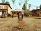 Парень в гримме HD из GTA Online for GTA San Andreas left view