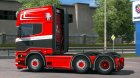 Scania R520 Adwin Stam for Euro Truck Simulator 2 left view