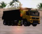 Volvo FMX E5 10x4 Dumper for GTA San Andreas side view