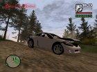 Mitsubishi Eclipse GT для GTA San Andreas вид сверху