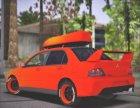 Mitsubishi Lancer Evolution IX MR LPcars for GTA San Andreas left view