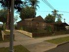 Новые дома на Грув-Стрит для GTA San Andreas вид сбоку
