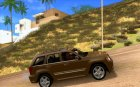 Jeep Grand Cherokee SRT8 v2.0 для GTA San Andreas вид изнутри