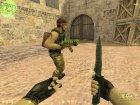 AK47 Pixels for Counter-Strike 1.6 rear-left view