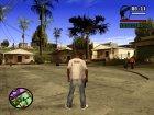 Футболка Бабайка V2 для GTA San Andreas вид слева