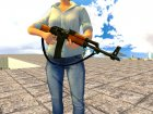 AK-47 с ремешком for GTA San Andreas top view