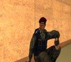 Беркут (украинский ОМОН) для GTA San Andreas вид сбоку
