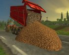 Heap TipTrigger for Farming Simulator 2015 rear-left view