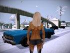 Новая женщина лёгкого поведения (Смена головы) для GTA San Andreas вид слева