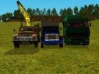 Пак грузовиков для GTA San Andreas вид слева