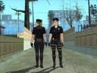 Female Police from GTA 5 for GTA San Andreas right view