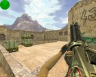 Лазерный Minigun for Counter-Strike 1.6 top view