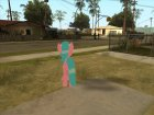 Aloe (My Little Pony) для GTA San Andreas вид сзади слева