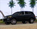Mercedes-Benz ML 63 AMG 2014 для GTA San Andreas вид изнутри