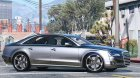 2010 Audi A8 FSI 4.0 for GTA 5 rear-left view