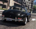 1955 Mercedes-Benz 300SL Gullwing 2.4 for GTA 5 rear-left view