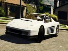 1984 Ferrari Testarossa 1.9 for GTA 5 inside view
