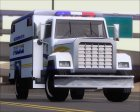 Enforcer Metropolitan Police for GTA San Andreas side view