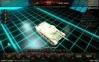 Премиум ангар - Трон для World of Tanks вид сбоку