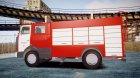 МАЗ 533702 Пожарный г. Липецк для GTA 4 вид сверху