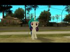 DJ Pon-3 (My Little Pony) for GTA San Andreas left view