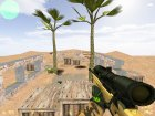 aim_desert для Counter-Strike 1.6 вид слева