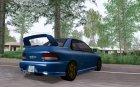 Subaru Impreza WRX GC8 InitialD for GTA San Andreas rear-left view