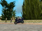 Yamaha YZF R1 for GTA Vice City left view
